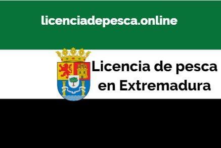 licencia de pesca en extremadura